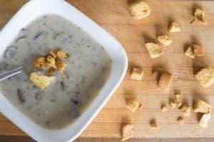 chunky mushroom soup