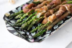 maple prosciutto asparagus