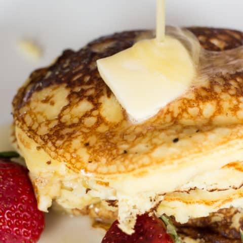 Keto Pancakes with Coconut Flour
