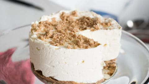 Keto Frozen Cheesecake