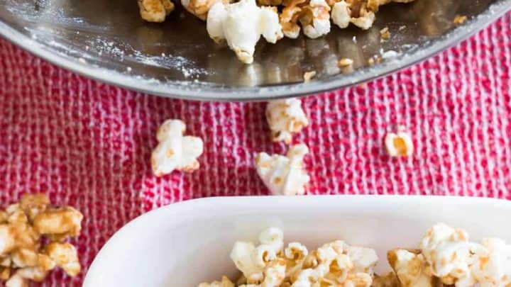 Sugar Free Caramel Popcorn