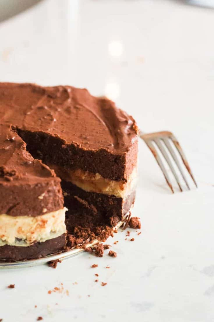 Keto Reese's Peanut Butter Cup Cake