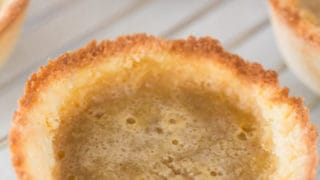 keto butter tarts, butter tarts, low carb butter tarts,