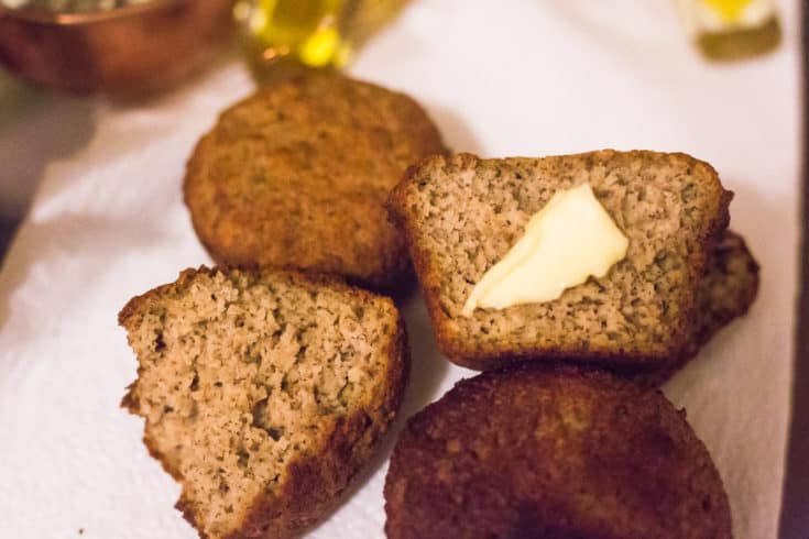Low Carb Bread Rolls with Yeast