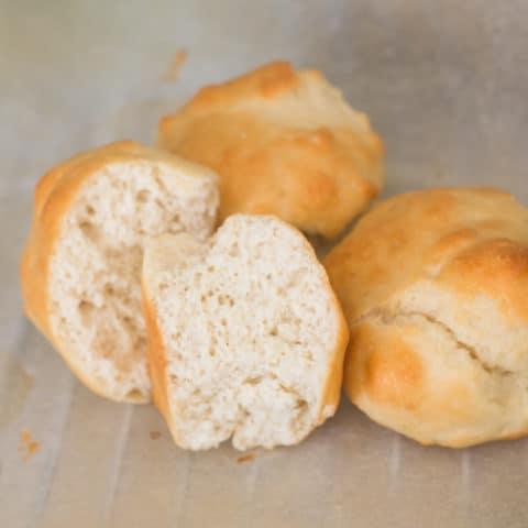 Keto Bread Rolls - No Eggs or Cheese!