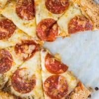 Keto Pizza Crust (No eggs, cheese)