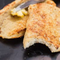 Keto 90-Second Bread (No eggs, nuts)