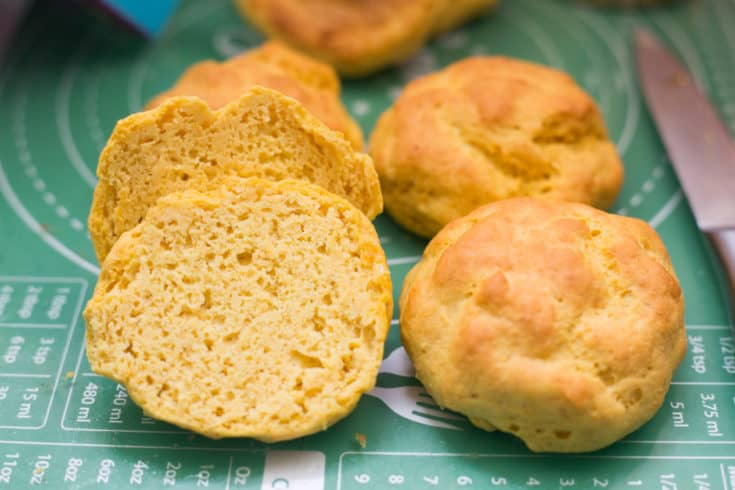 Easy Keto Bread Rolls 2 0 No Almonds Or Eggs The Hungry Elephant