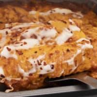 Keto Enchiladas with Homemade Tortillas