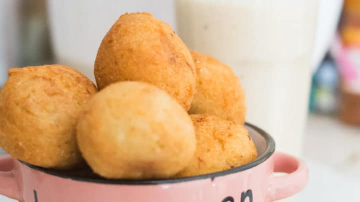 Keto Donut Holes (Fried)