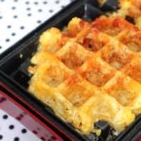 Keto Chaffle (Cheese Waffle) Plus OMAD Sandwich