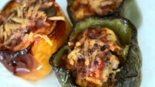 Keto Stuffed Peppers (Taco Style)