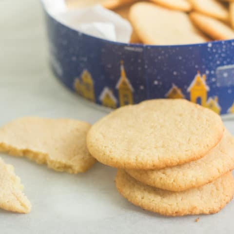 Basic Keto Sugar Cookies