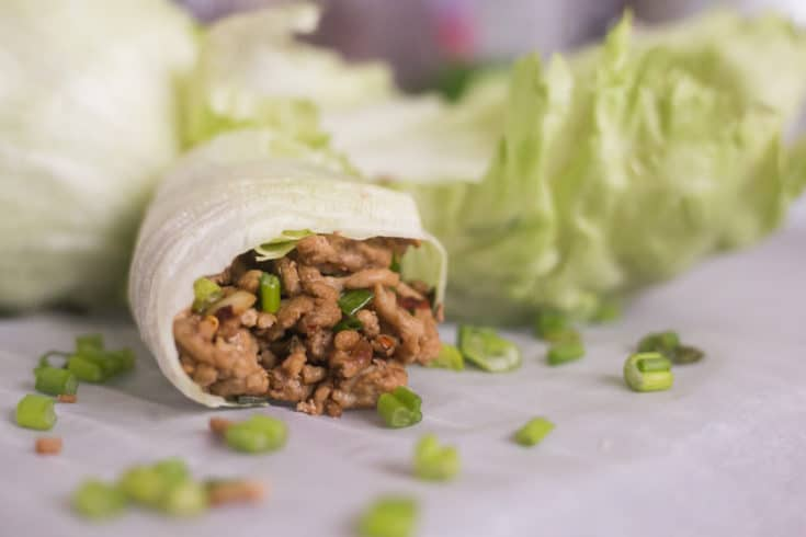 Easy & Quick Keto Lettuce Wraps