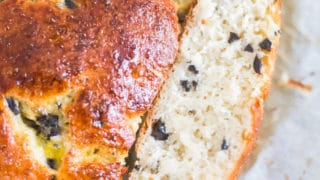 Low Carb Olive Bread | Grain Free