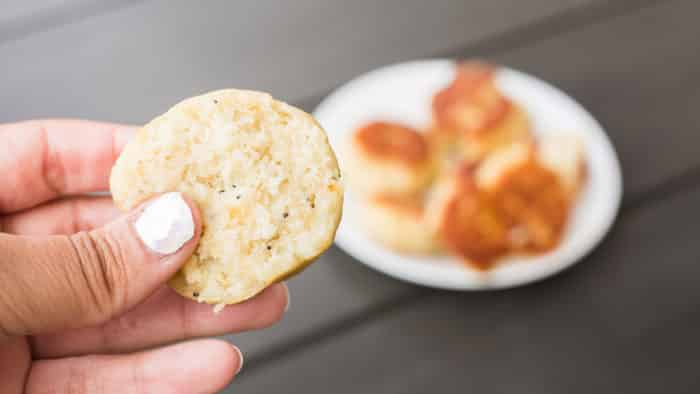 butter friend biscuits, grain free butter fried biscuits, grain free biscuits, low carb biscuits, low carb butter fried biscuits, arrowroot biscuits, almond flour biscuits, the hungry elephant